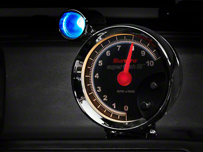 Sunpro Super Tach III 5 in. Tach w/ Shift Light (79-14 All)