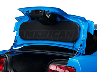 Trunk Lid Cover - Black (05-09 All)