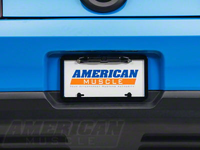 Rearview Back-Up Camera License Plate Frame (79-14 All)