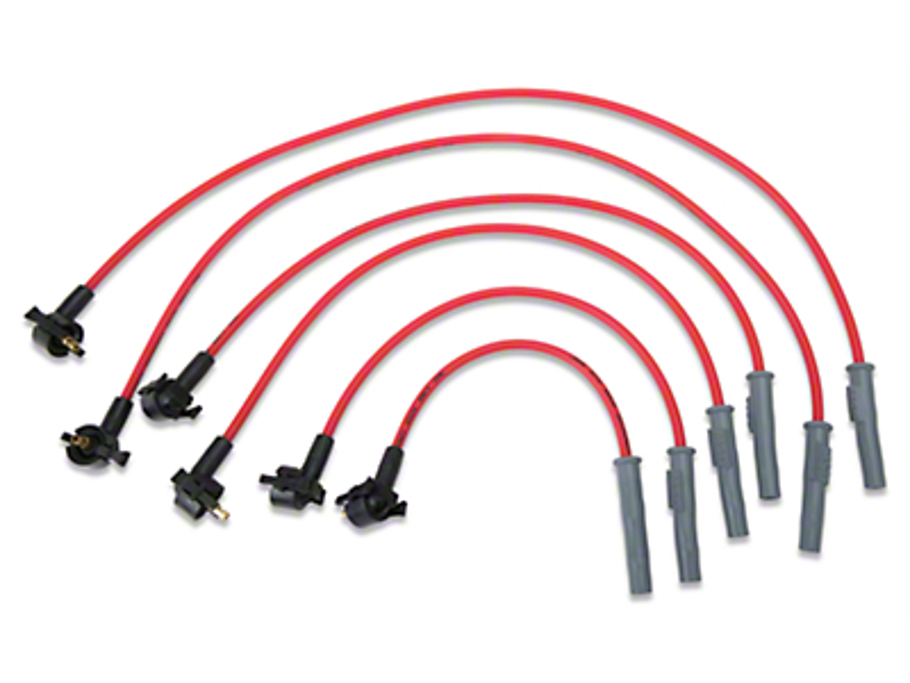 MSD Super Conductor 8.5mm Spark Plug Wires - Red (94-98 V6)