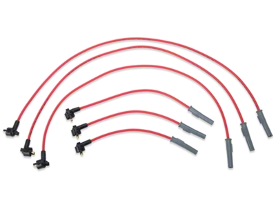 MSD Super Conductor 8.5mm Spark Plug Wires - Red (99-00 V6)