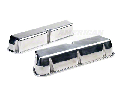 Moroso Polished Valve Covers (260, 289, 302, 351W)