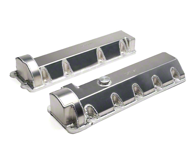 Moroso Fabricated Aluminum Valve Covers - 11 Bolt (96-04 GT)