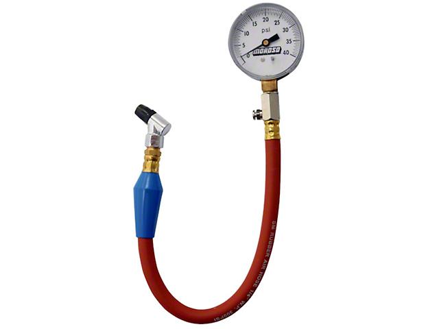 Moroso Pro-Style Tire Pressure Gauge - 0-40 psi