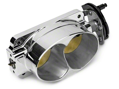 Accufab Twin 60mm Throttle Body (99-01 Cobra; 03-04 Mach 1)