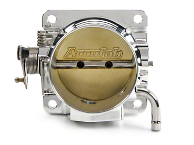 Accufab 75mm Throttle Body w/ EGR Delete Spacer (86-93 5.0L)