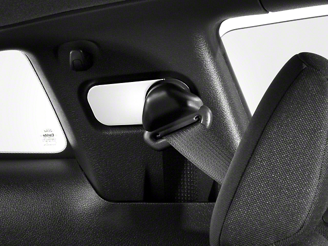Modern Billet Chrome Seat Belt Anchor Covers (05-09 All)