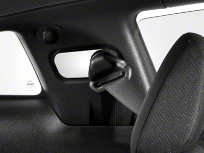 Modern Billet Chrome Seat Belt Anchor Covers (05-09 All)