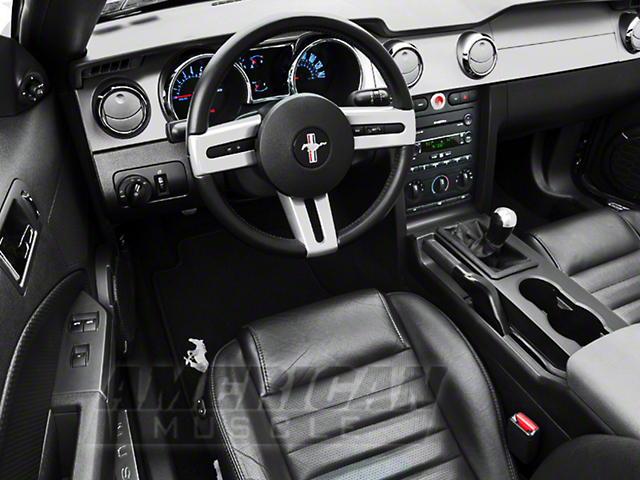 Modern Billet Mustang Chrome Billet Interior Complete Kit