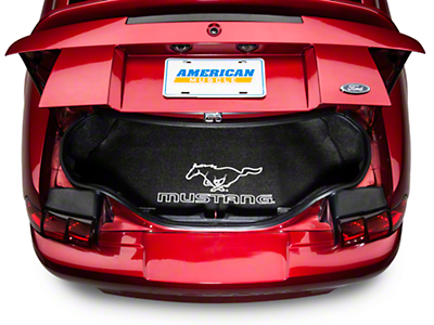 Fender Gripper Trunk Mat - Running Pony - Coupe (94-04 All)