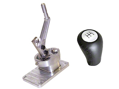 Steeda Tri-Ax Shifter and Ford Racing Shift Knob - T-5/T-45 (82-Early 01 V8; 93-99 Cobra; 94-04 V6)