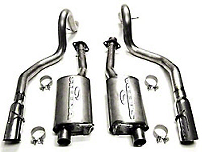 Steeda GT Stainless Steel Cat-Back Exhaust Kit (99-04 GT / Mach 1 /Bullitt)