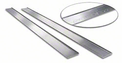 Steeda Polished Mustang Door Sill Plates (94-04)