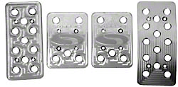 Steeda Billet Mustang Pedal Covers 3 Piece set (79-04 Manual Trans)