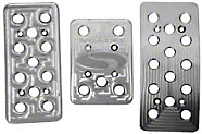 Steeda Billet Mustang Pedal Covers 3 Piece set (79-04 Auto Trans)