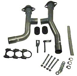 Mustang V6 Dual Exhaust Adapter Kit (99-04 V6)