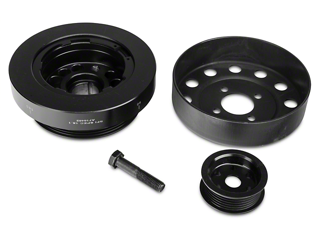 Steeda Underdrive Pulleys (96-Mid 01 GT)