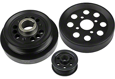 Steeda Underdrive Pulleys (01 Cobra; 03-04 Mach 1)