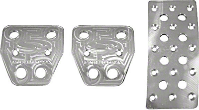 Steeda Billet Mustang Pedal Covers (05-09 Manual Trans)