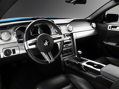 Brushed Aluminum Dash Overlay Kit (05-09 All)