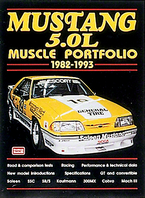 Mustang 5.0L Performance Portfolio 1982-1993 - Book