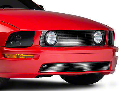 Polished Pony Delete Billet Grille - Combo (05-09 GT)