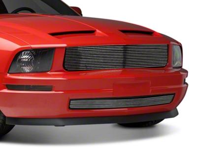Modern Billet Polished Retro Billet Grille - Combo (05-09 V6)