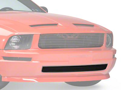 Modern Billet Black Retro Billet Grille - Lower (05-09 V6)