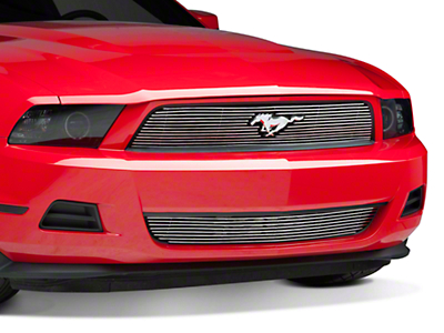 Modern Billet Polished Billet Grille - Combo (10-12 V6)
