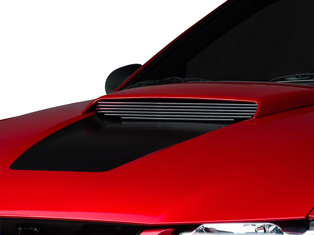 Modern Billet Polished Hood Scoop Billet Insert (99-04 GT)