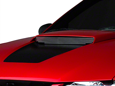 Black Hood Scoop Billet Insert (99-04 GT)