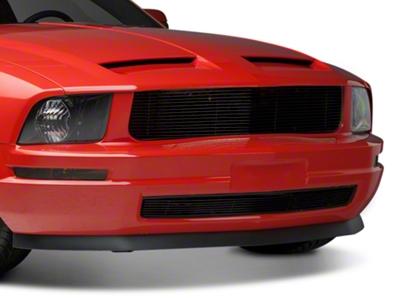 Modern Billet Black Retro Billet Grille - Combo (05-09 V6)