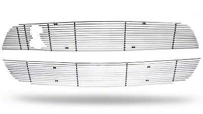 Polished Mustang Billet Upper & Lower Grille Combo (10-12 GT500)