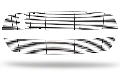 Modern Billet Black Mustang Billet Upper & Lower Grille Combo Kit (10-12 GT500)