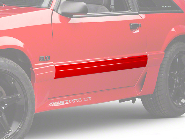 Left Side Door Molding (87-93 GT)