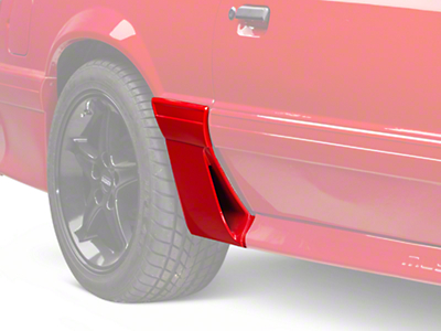 Right Side Quarter Molding w/ Side Scoop - Side (87-93 GT)