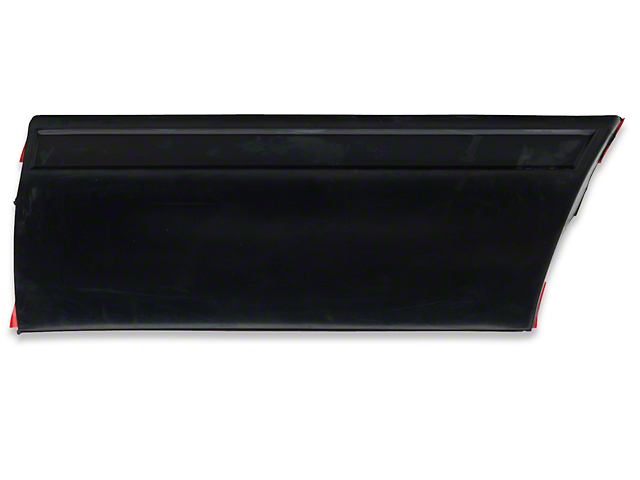 Front Right Side Fender Molding - Rear (87-93 LX)