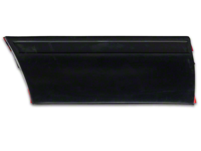 Front Left Side Fender Molding - Rear (87-93 LX)