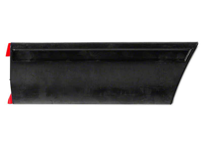 Left Side Quarter Molding - Front (87-93 LX)