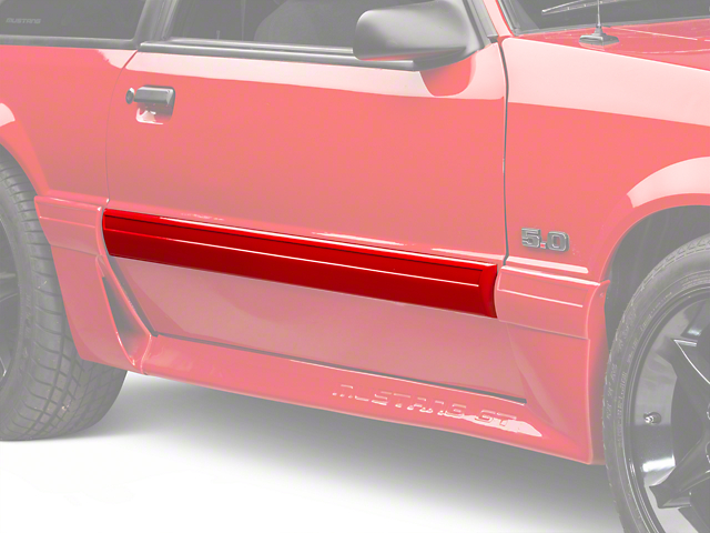 Right Side Door Molding (87-93 LX)