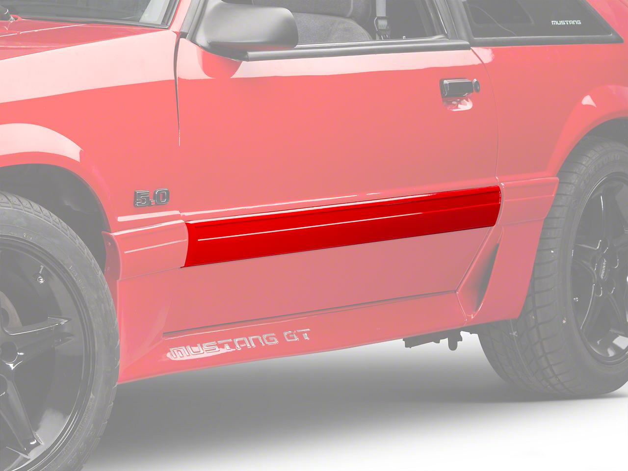 OPR Left Side Door Molding (87-93 LX)