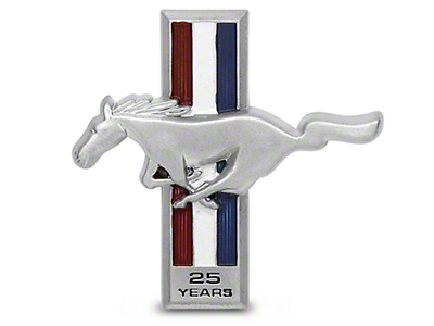 25th Anniversary Dash Emblem