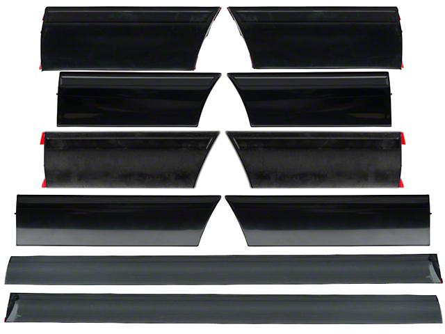 OPR LX Side Body Molding - 10 Piece Kit (91-93 LX)