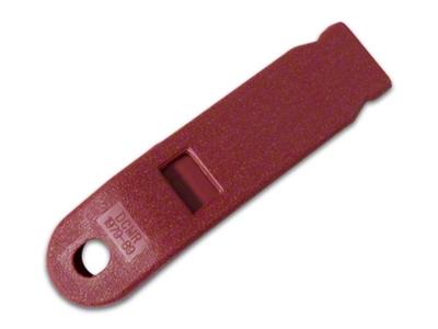 Inner Seat Belt Sleeve - Red (79-89 All)