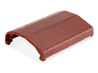 Seat Belt Buckle Cover - Red (83-89 All)
