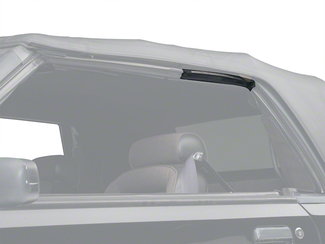 Convertible Top Side Rail Weatherstrip - Left Side (83-93 All)