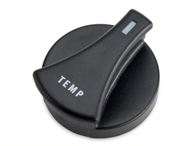 HVAC Control Knob - Temp (87-89 All)