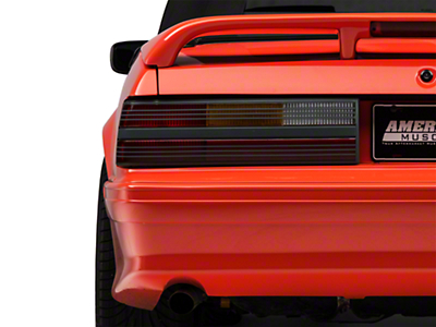 Replacement Cobra Style Tail Light Lens - Left Side (87-93 All)