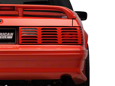 Replacement GT Style Tail Light Lens - RH (87-93 All)