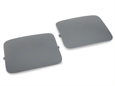 Hatchback Shock Access Covers - Gray (87-89 All)